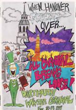 Original Dartmouth Winter Carnival Poster 1994