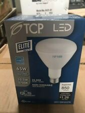 NIB TCP Connected 65W Soft White (2700K) BR30 Smart Bulb