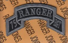 75th Infantry Regiment AIRBORNE RANGER scroll patch 1-F ACU No Hook & Loop
