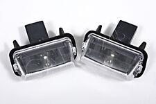 Genuine Number Plate Lights x2 Fits CITROEN C3 C5 Saxo PEUGEOT 207 306 406 1996-