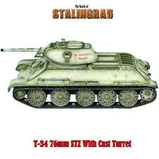 First Legion: RUSSTAL020 Russian T-34 76mm STZ with Cast Turret - Winter