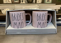 Rae Dunn by Magenta - Pink Bridesmaid Mug Set - NWT