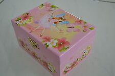 Girls Ballerina Jewellery Music Musical Box Fairy Flower girI xmas Gift unwanted