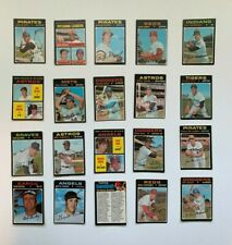 (You Pick) 1971 Topps Baseball Trading Cards T.C.G #1 - 737