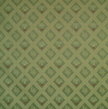 Tropical Palm Palmetto Tree Art Deco Wasabi Green Upholstery Fabric 1527-676