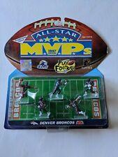 DENVER BRONCOS All Star MVP 1997 NFL Play Footlball 5 Poseable Figures