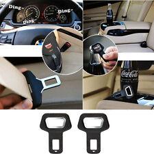 2pcs Automobiles Safety Belt Fasteners Auto Buckle Dual-usage Seat Belt Clip New