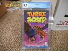 Teenage Mutant Ninja Turtles TURTLE SOUP 1 cgc 9.4 Mirage 1987 NM MINT WHITE pgs