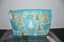 Thirty One MEDIUM THERMAL Zipper Pouch in Whimsical Winter - NWT