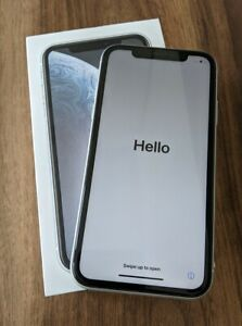 Apple iPhone XR 64GB in White - EE - Model A2105 - Boxed - Fantastic Condition