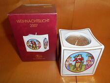 Hutschenreuther Weihnachtslicht 2007  Motiv Schneeweißchen Neu OVP Porzellan