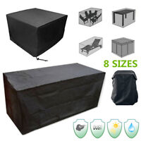 8 Size Waterproof Outdoor Furniture Cover Garden Shelter Table Chair  AL