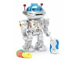 RC Dancing Robot With Missile Disc Launcher Music & Voice New