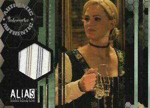 Alias Season Four Jennifer Garner as Sydney Bristow Pieceworks Trading Card #PW2