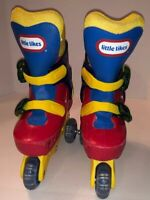 VINTAGE LITTLE TIKES TRAINING Roller Skates ADJUSTABLE YOUTH SIZE M 10 11 12