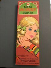 1975 Quick Curl Barbie Paper Doll In Box WHITMAN vintage 70's