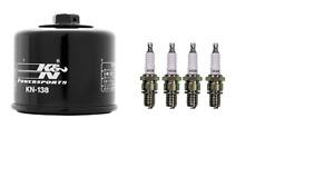 Suzuki GSXR600 GSXR 600 New Tune up Kit 4 NGK Spark Plugs 1 Oil Filter 1997-2007