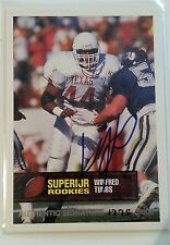 1994 Superior Rookie Authentic Signature autograph Winfred Tubbs,Texas 1775/5000