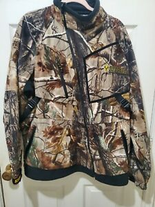 Scent Blocker Hunting Camping Realtree Roadtrips Suit, Pants & Jacket. Large