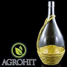 Glasflaschen 1l  Weinkaraffe Dekantierer Liköre , Cognac , Whisky  + Kork