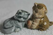 WADE WHIMSIE KITTEN WITH WOOL & PERSIAN KITTEN(Both have one small fault) ref 27