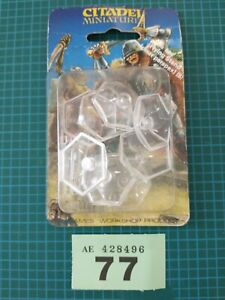 Warhammer Epic Hexagonal Flying Stands X 8 with stems BNIB Games Workshop Lot 77