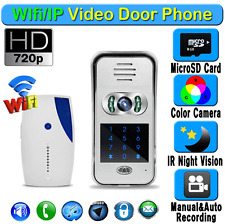 Home Security Smart Wireless WiFi Remote Video IR Camera Door Phone Doorbell