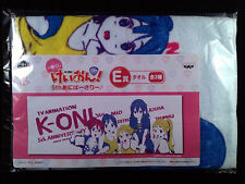 K-On! Keion 5th anniversary Sports Towel official Ichiban Kuji 2 New