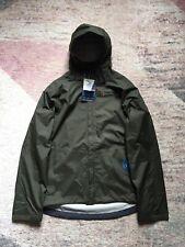 Berghaus Men's Vented Deluge Waterproof Jacket Olive Green XLarge