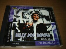 Billy Joe Royal - Down in the Boondocks CD 1997 KRB
