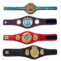 WBC WBA WBO IBF Championships Boxing Belt Adult Belts Premium Quality
