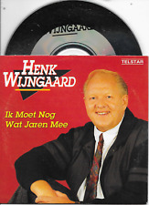 HENK WIJNGAARD - Ik moet nog jaren mee CD SINGLE 2TR Dutch Cardsleeve 1991