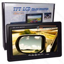 LCD 7' POLLICI TFT CON TELECOMANDO CASA CAMPER TVCC MACCHINA INCASSO