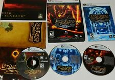 Lord of the Rings Online: Mines of Moria Bonus (PC, 2008) w/ Shadows of Angmar