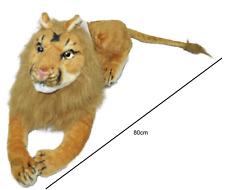 Lion Soft Toy Plush King Stuffed Xmas Present Birthday Gift Simba Large 80cm