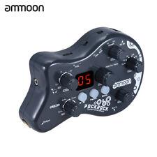 Pro Ammoon PockRock Portable Guitar Multi-Effects Processor Effect Pedal 15 New