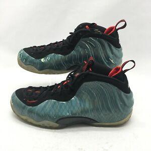 Nike Air Foamposite One Gone Fishing Basketball Shoes Mens 17 Emerald 575420-300