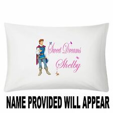 Personalized Prince Ferninand Snow White Tangled Pillowcase