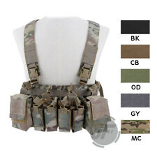 Tactical D3CR Chest Rig X Harness Assault Plate Carrier w/ Front Mission Panel