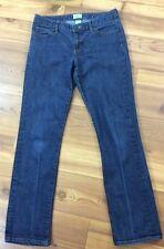 Gap Women's Jeans Size 4 / 27 Curvy Straight Denim 29 Inseam