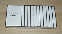 Chanel Les Exclusifs Sycomore edp sealed pack of 12 samples x 1.5 ml each