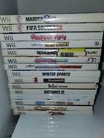 Nintendo Wii Game Lot - 15 Games (Nintendo Wii, 2015)