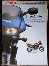 MOTO YAMAHA FZS 600 / 600S FAZER 2001 FEUILLET CATALOGUE  PROSPECTUS BROCHURE