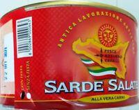 SARDE SALATE PESCE AZZURRO CEFALU'    SICILIA  ITALIA KG  1,600
