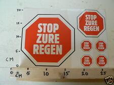 STICKER,DECAL SHEET STOP ZURE REGEN LARGE