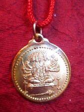 HINDHU-DEITY-MONKEY-GOD-HANUMAN-SHIVA-SHIV-METAL-GOLD-PLATED-YANTRA-PENDANT-3-c