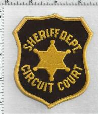 Oakland County Sheriff Circuit Court (Michigan) 1st Issue Shoulder Patch