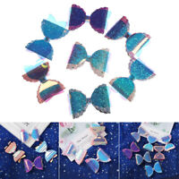 Fashion Sweet Girl Baby Bow knot Rainbow Color Hair Clip Glitter Sequins Patches