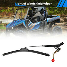UTV Manual Windshield Wiper Universal for Polaris RZR Kawasaki Mule Teryx Yamaha