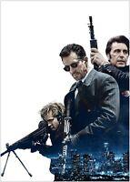 Heat De Niro Pacino Classic Movie Large Poster Art Print Maxi A1 A2 A3 A4